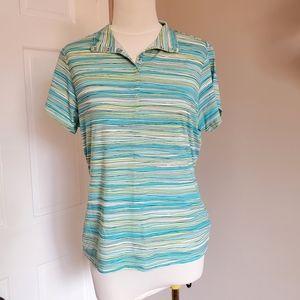 2/$25 Cutter & Buck polo golf shirt mock neck polo